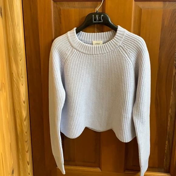 NWOT Aritizia Wilfred cropped wool sweater